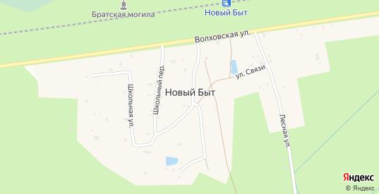 ГСК Новый (Элис) в Кировске с номерами домов на карте. Спутник и схема онлайн