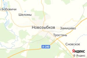 Карта г. Новозыбков Брянская область