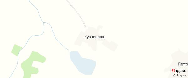Карта деревни Кузнецово в Смоленской области с улицами и номерами домов