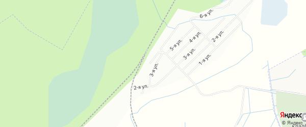 Карта садового некоммерческого товарищества Волжа в Ленинградской области с улицами и номерами домов