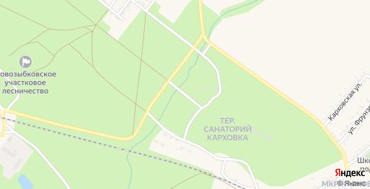 Территория ГСК - 3 в Новозыбкове с номерами домов на карте. Спутник и схема онлайн