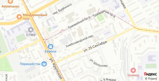 Хлебозаводской переулок в Смоленске с номерами домов на карте. Спутник и схема онлайн