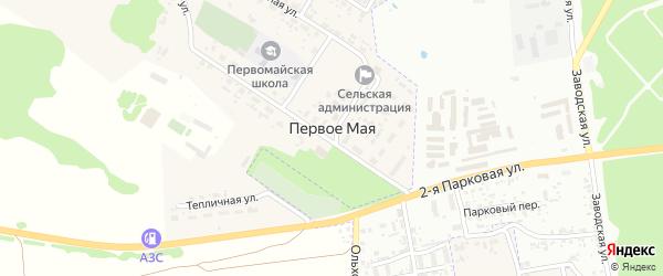 Скачковская улица на карте поселка Первое Маи с номерами домов