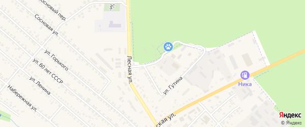 Лесная улица на карте поселка Климово с номерами домов