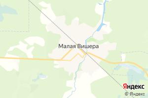 Карта г. Малая Вишера Новгородская область