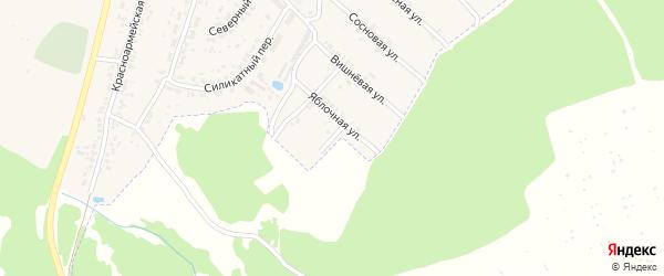 Васильковая улица на карте поселка Чемерны с номерами домов