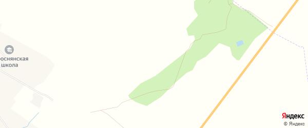 Карта поселка Волны в Брянской области с улицами и номерами домов