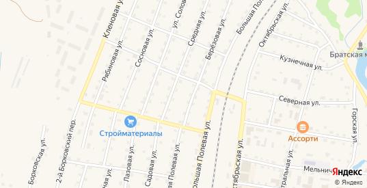 Лазовая улица в Андреаполе с номерами домов на карте. Спутник и схема онлайн