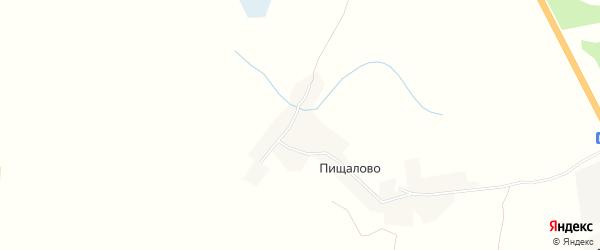 Карта деревни Пищалово в Смоленской области с улицами и номерами домов