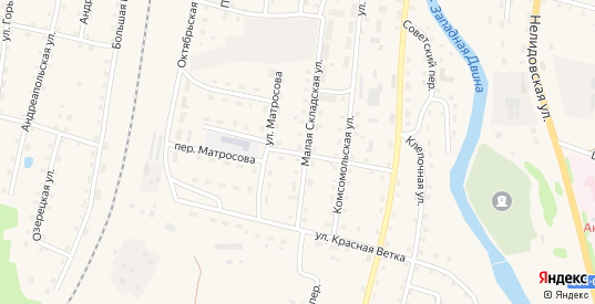 Пионерская улица в Андреаполе с номерами домов на карте. Спутник и схема онлайн