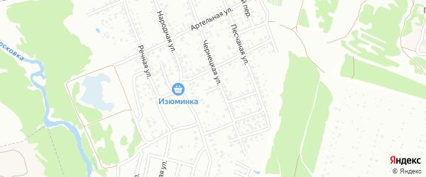 1-й Народный переулок на карте Клинцов с номерами домов