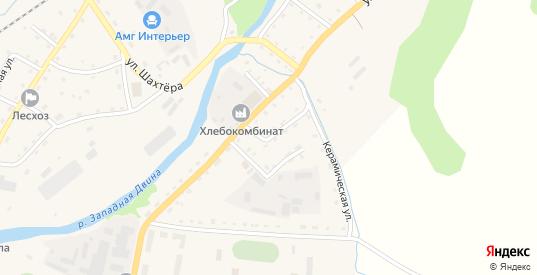 2-й Измайловский переулок в Андреаполе с номерами домов на карте. Спутник и схема онлайн