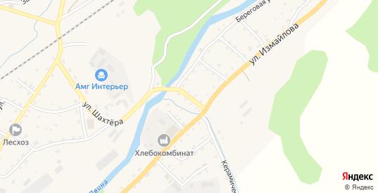 Песчаная улица в Андреаполе с номерами домов на карте. Спутник и схема онлайн
