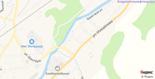 Песчаный переулок в Андреаполе с номерами домов на карте. Спутник и схема онлайн