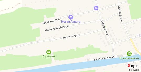 Западная улица в Новой Ладоге с номерами домов на карте. Спутник и схема онлайн