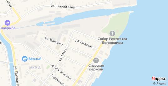 Улица Гагарина в Новой Ладоге с номерами домов на карте. Спутник и схема онлайн
