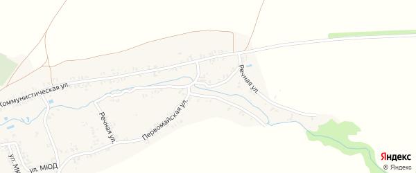 Речная улица на карте села Коржовки-Голубовки Брянской области с номерами домов