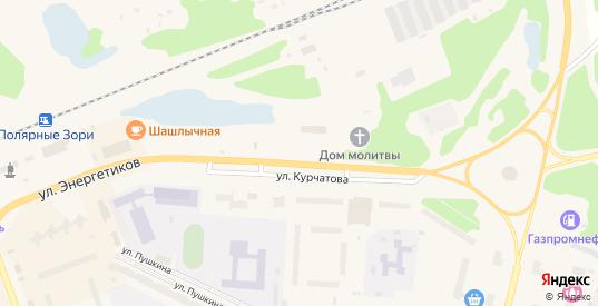 Территория ГЭК Строитель в Полярные Зори с номерами домов на карте. Спутник и схема онлайн