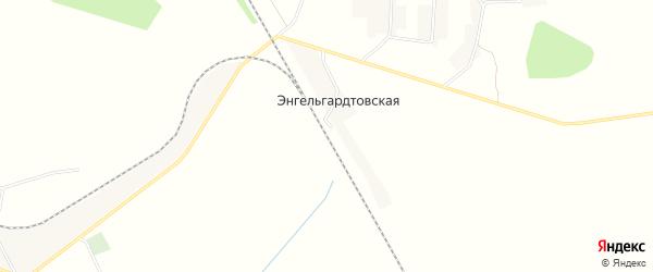 Карта Энгельгардтовской станции в Смоленской области с улицами и номерами домов