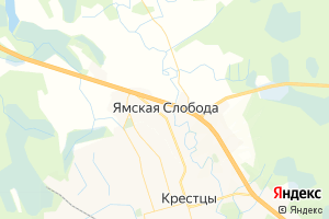 Карта с. Ямская Слобода Новгородская область