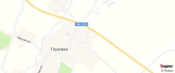 Новая улица на карте деревни Глуховки с номерами домов