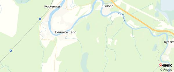 Карта массива Волхов ул.Металлургов 17а Ленинградской области с районами, улицами и номерами домов