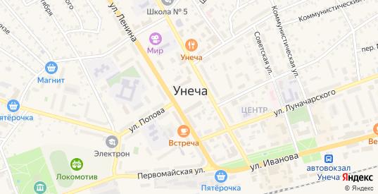 Улица Саманты Смитт в Унече с номерами домов на карте. Спутник и схема онлайн