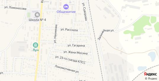 Переулок 3-й Ломоносова в Унече с номерами домов на карте. Спутник и схема онлайн