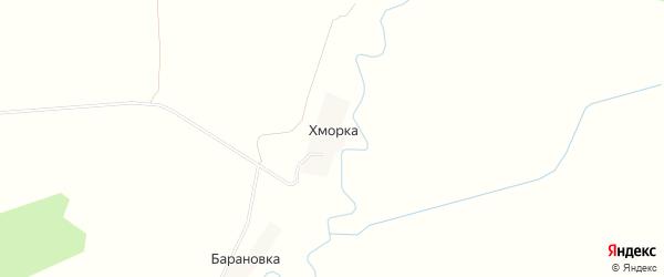 Карта деревни Хморки в Смоленской области с улицами и номерами домов