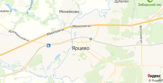 Карта Ярцево с улицами и домами подробная. Показать со спутника номера домов онлайн
