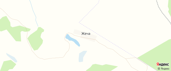 Карта поселка Жечи в Брянской области с улицами и номерами домов