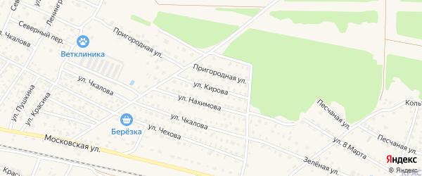 Улица Кирова на карте Ярцево с номерами домов