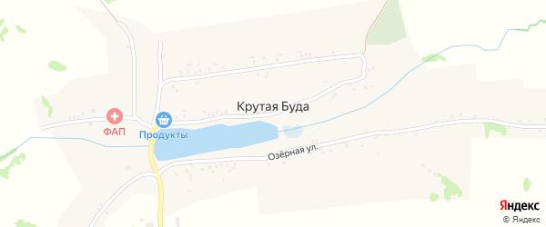 Молодежная улица на карте села Крутой Буды с номерами домов