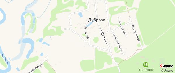 Речная улица на карте Ярцево с номерами домов