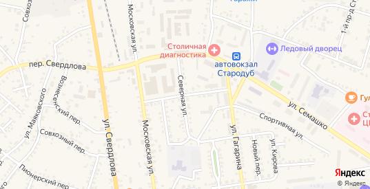 Восточная улица в Стародуб с номерами домов на карте. Спутник и схема онлайн