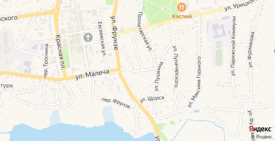 Переулок Пушкина в Стародуб с номерами домов на карте. Спутник и схема онлайн