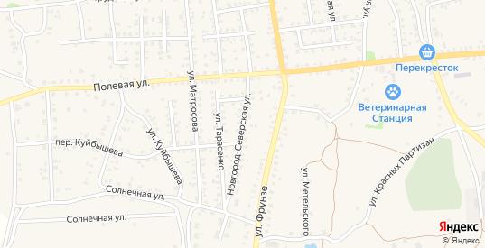 Новгород-Северская улица в Стародуб с номерами домов на карте. Спутник и схема онлайн