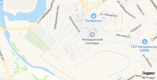 Улица Домостроителей в Нелидово с номерами домов на карте. Спутник и схема онлайн