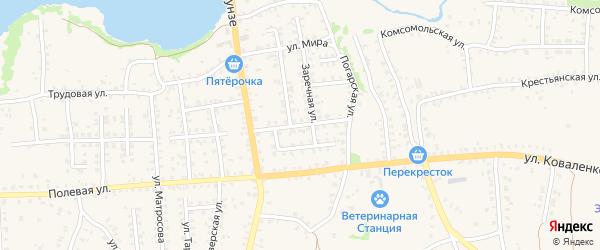 Улица 60 лет Октября на карте Стародуб с номерами домов