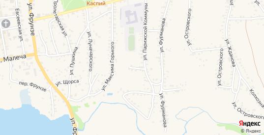 Улица Парижской Коммуны в Стародуб с номерами домов на карте. Спутник и схема онлайн