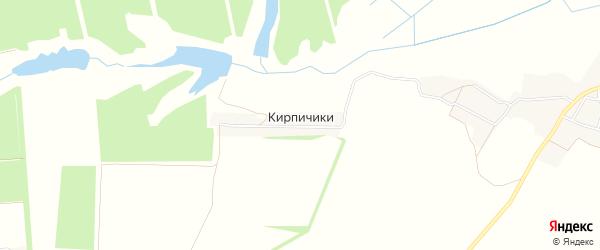 Карта поселка Кирпичики в Брянской области с улицами и номерами домов