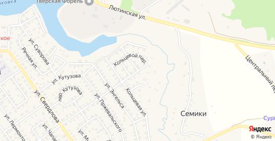 Кольцевой переулок в Нелидово с номерами домов на карте. Спутник и схема онлайн