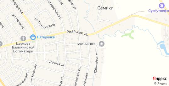 Зеленый переулок в Нелидово с номерами домов на карте. Спутник и схема онлайн