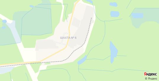 Территория Гаражный кооператив 6 рн Шахты 4 на карте Нелидово с номерами домов