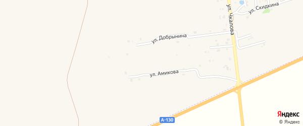 Улица Степина на карте Рославля с номерами домов
