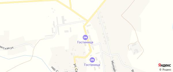 Улица Дружбы на карте Высокого села с номерами домов