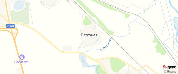 Карта Паточной деревни в Смоленской области с улицами и номерами домов