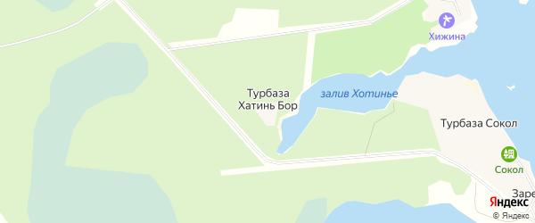 Карта населенного пункта Турбазы