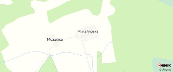 Карта деревни Михайловки в Тверской области с улицами и номерами домов