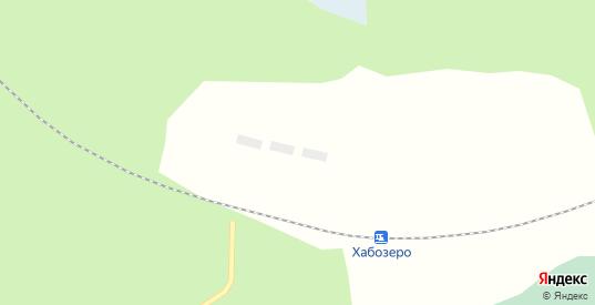 Территория Хабозеро в Полярные Зори с номерами домов на карте. Спутник и схема онлайн
